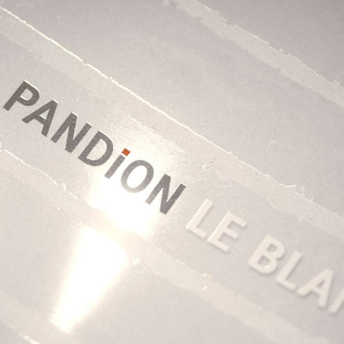 PANDION Le Blanc